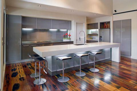 厨房现代风格效果图大全2017图片_土拨鼠美好格调厨房现代风格装修设计效果图欣赏