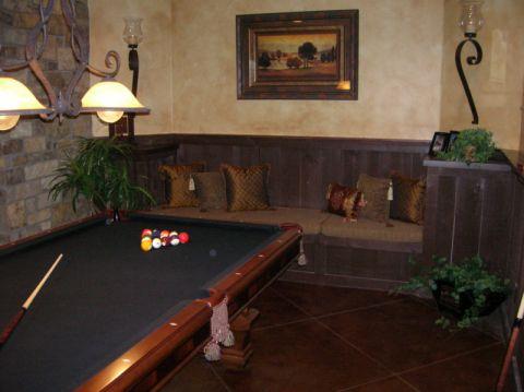 客厅背景墙古典风格装修图片