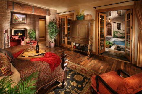 卧室沙发地中海风格装潢设计图片