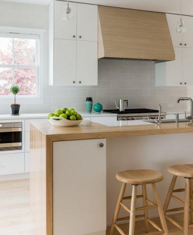 厨房北欧风格效果图大全2017图片_土拨鼠清新写意厨房北欧风格装修设计效果图欣赏