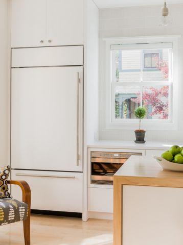 厨房窗台北欧风格装修图片
