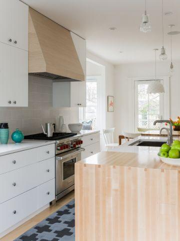厨房北欧风格效果图大全2017图片_土拨鼠个性富丽厨房北欧风格装修设计效果图欣赏