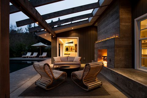 阳台现代风格效果图大全2017图片_土拨鼠简洁舒适阳台现代风格装修设计效果图欣赏