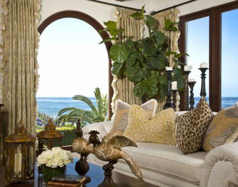 客厅地中海风格效果图大全2017图片_土拨鼠极致质感客厅地中海风格装修设计效果图欣赏