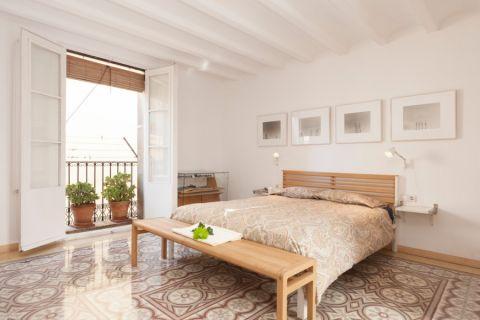 卧室北欧风格效果图大全2017图片_土拨鼠清新创意卧室北欧风格装修设计效果图欣赏
