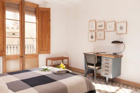 卧室北欧风格效果图大全2017图片_土拨鼠奢华个性卧室北欧风格装修设计效果图欣赏