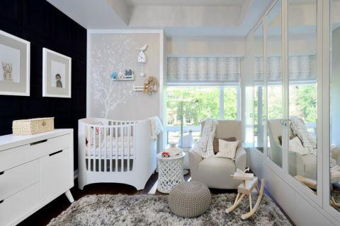 儿童房现代风格效果图大全2017图片_土拨鼠极致沉稳儿童房现代风格装修设计效果图欣赏