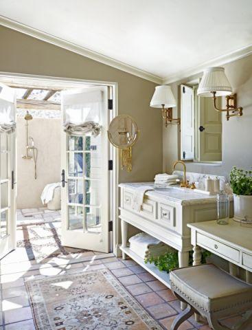 浴室欧式风格效果图大全2017图片_土拨鼠休闲自然浴室欧式风格装修设计效果图欣赏