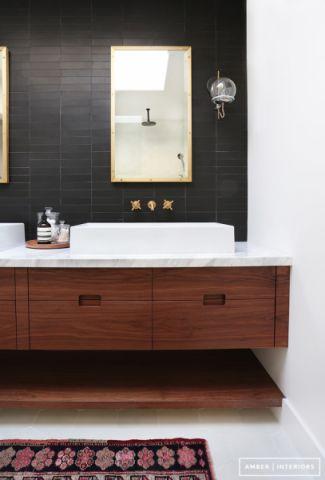 浴室北欧风格效果图大全2017图片_土拨鼠古朴休闲浴室北欧风格装修设计效果图欣赏