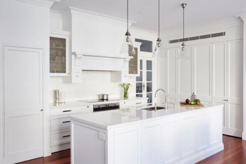 厨房美式风格效果图大全2017图片_土拨鼠时尚舒适厨房美式风格装修设计效果图欣赏