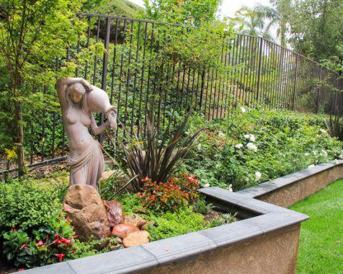 花园混搭风格效果图大全2017图片_土拨鼠个性自然花园混搭风格装修设计效果图欣赏
