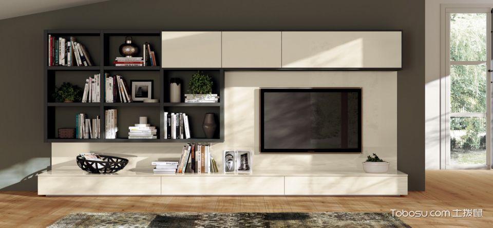 客厅白色窗台现代风格装修效果图