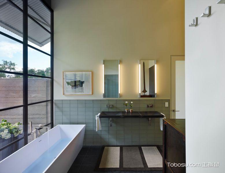 2018地中海浴室设计图片 2018地中海浴缸装修设计