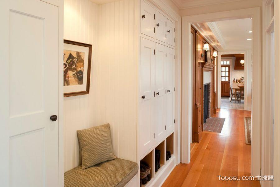 玄关30平二居室美式风格装修效果图大全2017图片