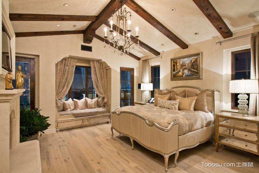 卧室60㎡地中海风格装修效果图大全2017图片