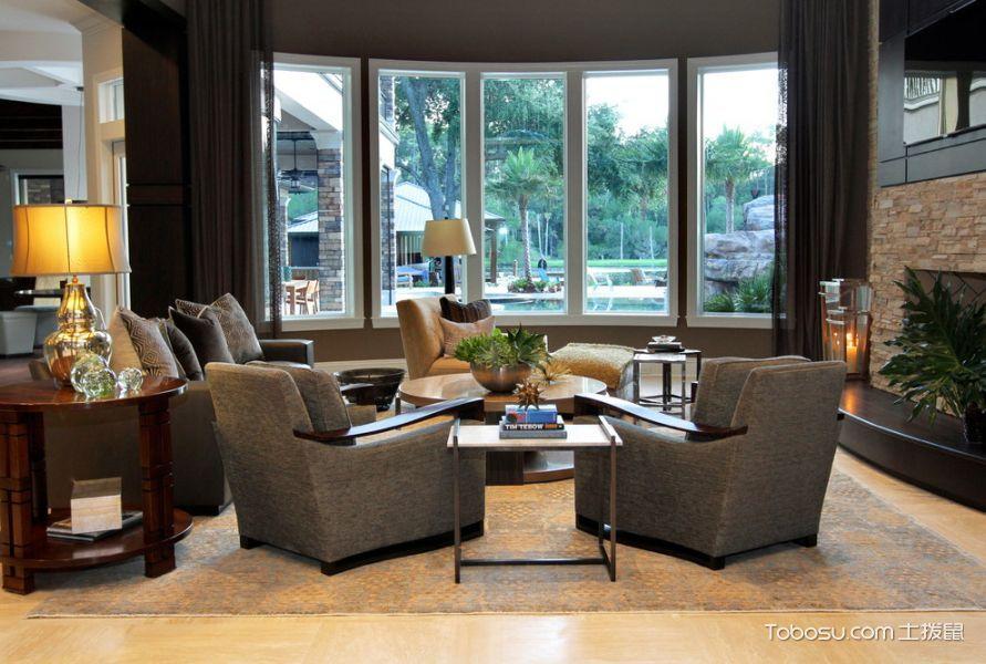 阳台灰色窗台现代风格装潢效果图