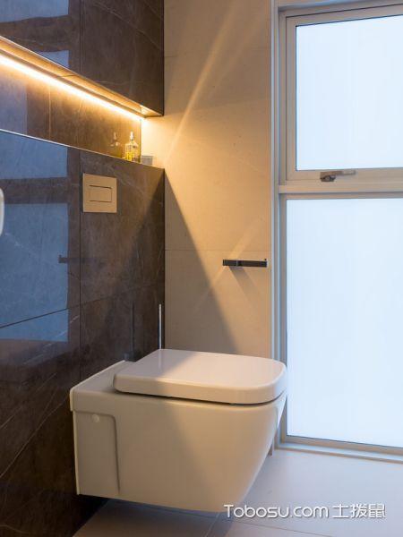 卫生间现代风格效果图大全2017图片_土拨鼠简约摩登卫生间现代风格装修设计效果图欣赏