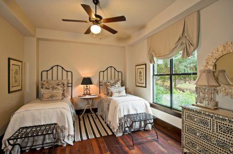 卧室美式风格效果图大全2017图片_土拨鼠个性迷人卧室美式风格装修设计效果图欣赏