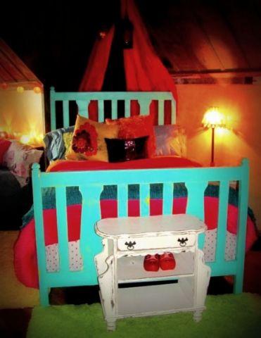 混搭臥室兒童床裝修方案
