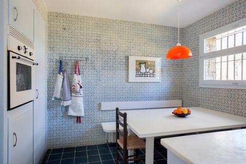 厨房地中海风格效果图大全2017图片_土拨鼠豪华自然厨房地中海风格装修设计效果图欣赏
