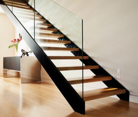 楼梯现代风格效果图大全2017图片_土拨鼠极致奢华楼梯现代风格装修设计效果图欣赏