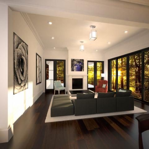 2019现代60平米装修效果图片 2019现代三居室装修设计图片