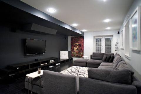 客厅现代风格效果图大全2017图片_土拨鼠温馨摩登客厅现代风格装修设计效果图欣赏