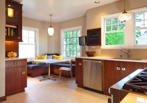 厨房现代风格效果图大全2017图片_土拨鼠时尚个性厨房现代风格装修设计效果图欣赏