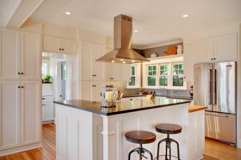 厨房美式风格效果图大全2017图片_土拨鼠简约休闲厨房美式风格装修设计效果图欣赏