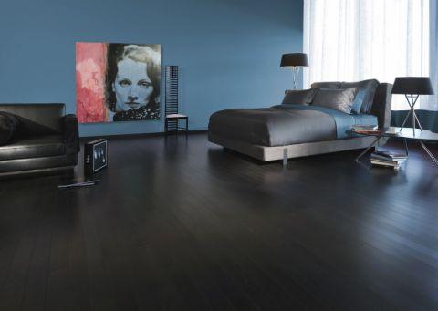 卧室现代风格效果图大全2017图片_土拨鼠个性写意卧室现代风格装修设计效果图欣赏