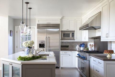 厨房美式风格效果图大全2017图片