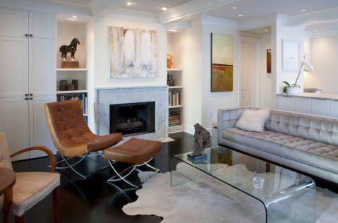 客厅现代风格效果图大全2017图片_土拨鼠干净格调客厅现代风格装修设计效果图欣赏