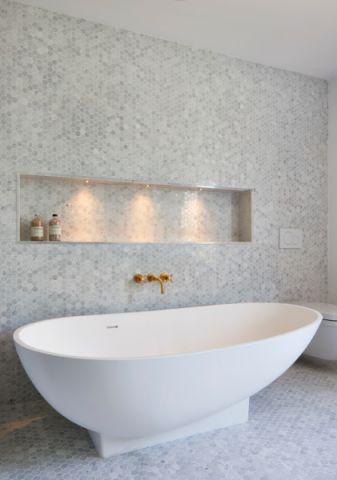 浴室220平米现代风格四居室装修效果图大全2017图片