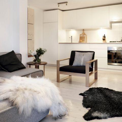 客厅现代风格效果图大全2017图片_土拨鼠简洁优雅客厅现代风格装修设计效果图欣赏