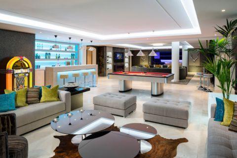 客厅混搭风格效果图大全2017图片_土拨鼠个性质朴客厅混搭风格装修设计效果图欣赏