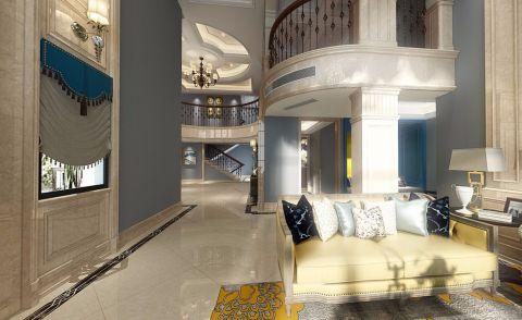 2021简欧300平米以上装修效果图片 2021简欧别墅装饰设计