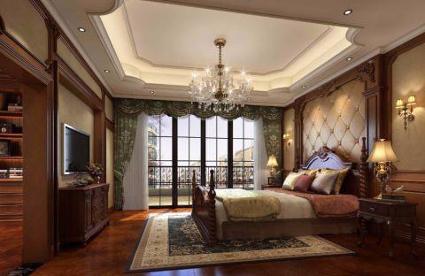 金碧天下美式风格别墅装饰效果图