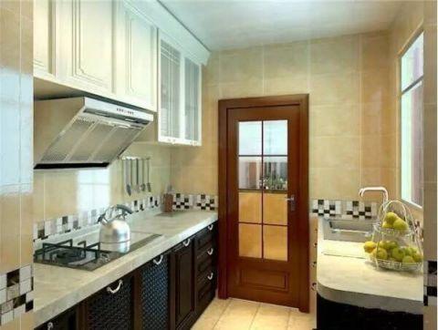 厨房橱柜新中式风格装修设计图片