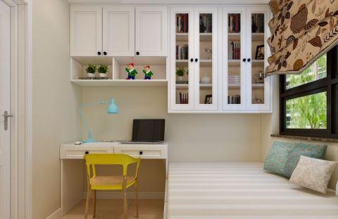 书房橱柜美式风格装饰效果图