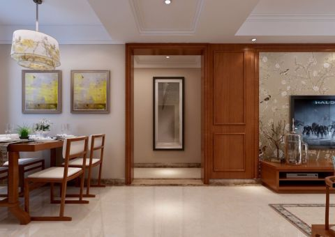 玄关推拉门现代简约风格装饰设计图片