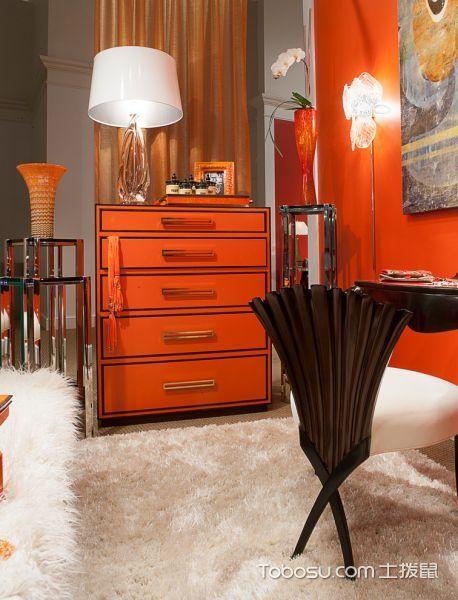 卧室米色地砖现代风格装修效果图