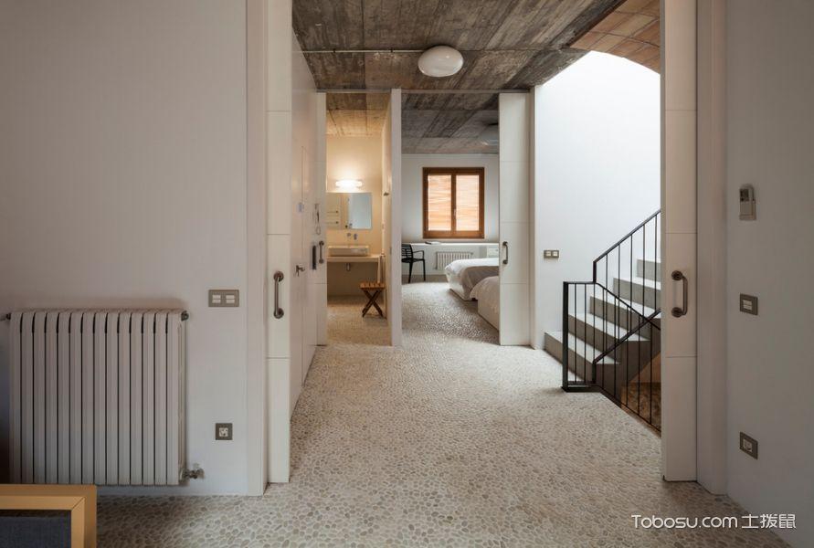 楼梯地中海风格效果图大全2017图片_土拨鼠温馨清新楼梯地中海风格装修设计效果图欣赏