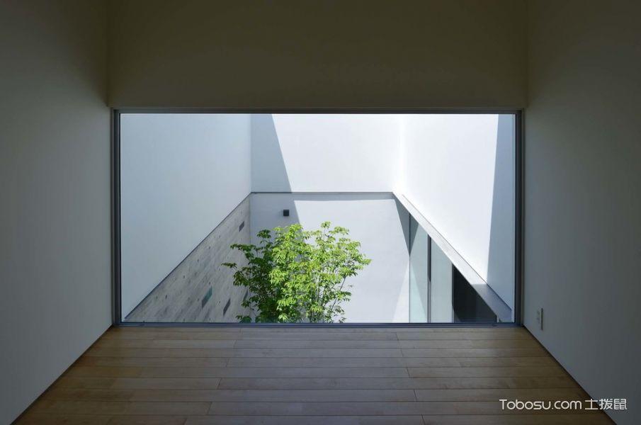 客厅咖啡色窗台现代风格装饰效果图