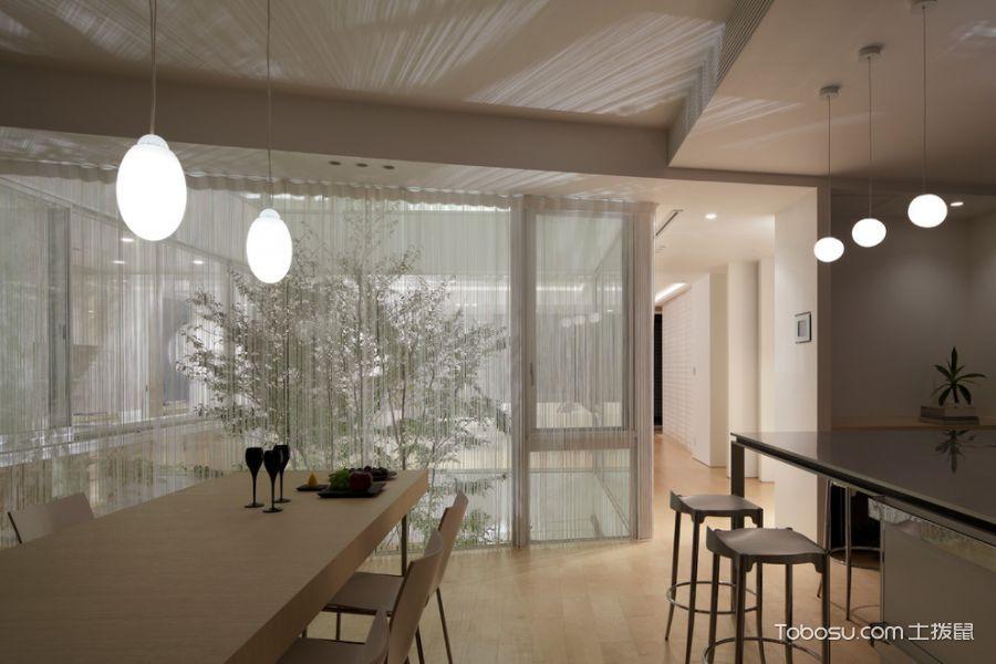 餐厅现代风格效果图大全2017图片_土拨鼠个性个性餐厅现代风格装修设计效果图欣赏