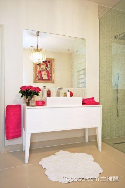 浴室细节混搭风格装饰设计图片