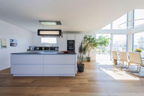 厨房现代风格效果图大全2017图片_土拨鼠浪漫温馨厨房现代风格装修设计效果图欣赏
