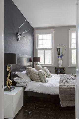 卧室混搭风格效果图大全2017图片_土拨鼠简约温馨卧室混搭风格装修设计效果图欣赏
