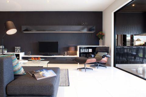 客厅现代风格效果图大全2017图片_土拨鼠优雅温馨客厅现代风格装修设计效果图欣赏