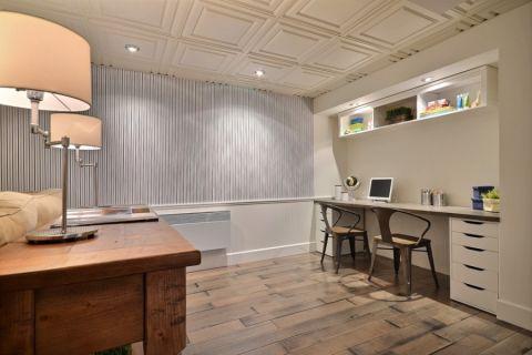 地下室美式风格效果图大全2017图片_土拨鼠美感优雅地下室美式风格装修设计效果图欣赏