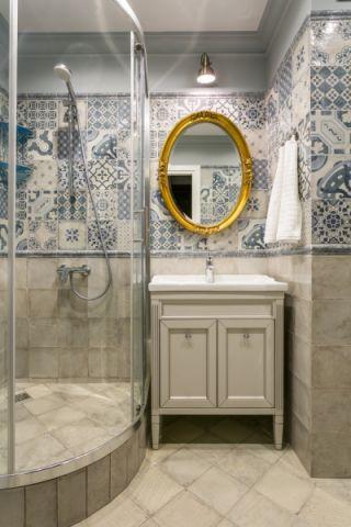 浴室美式风格效果图大全2017图片_土拨鼠文艺个性浴室美式风格装修设计效果图欣赏